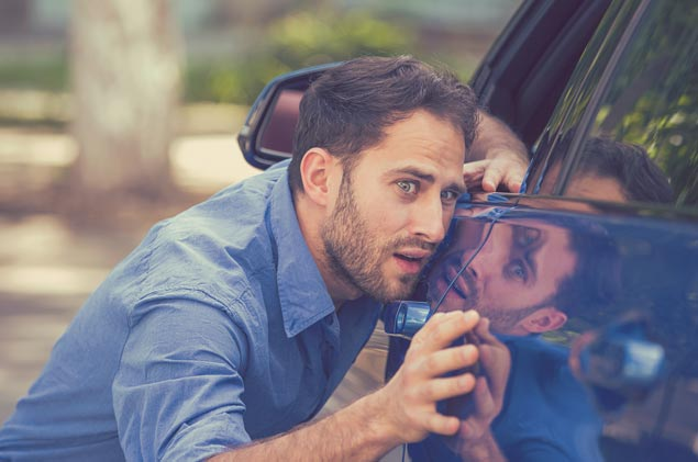 Claims Scenario – I Door Dinged a Car With The Driver In It, Now What?