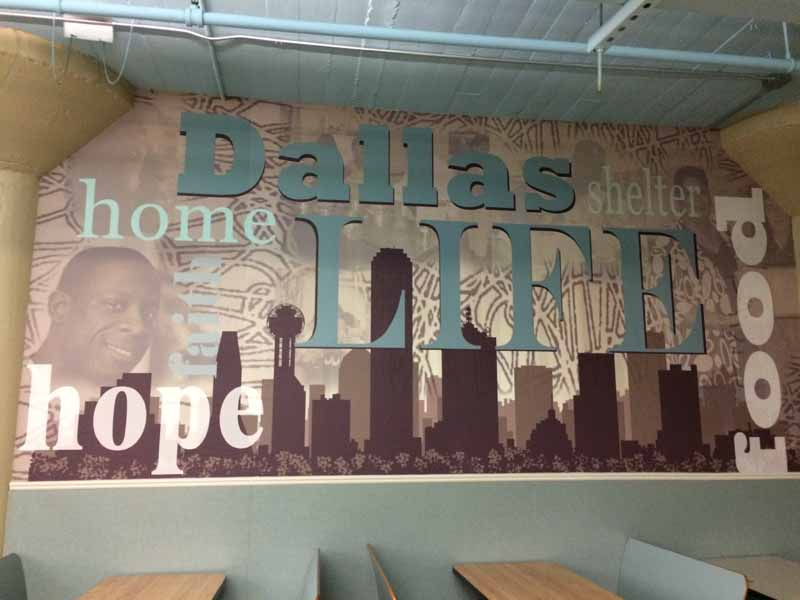 Dallas Insurance Agency Serves Community Lunches