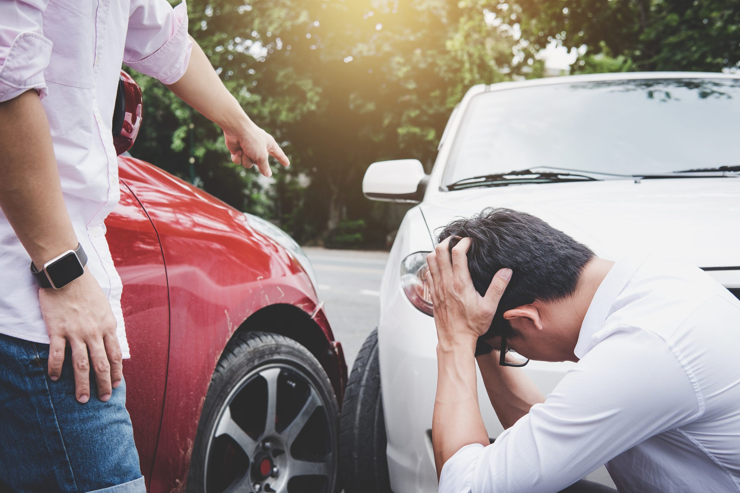 What happens when insurance doesn't fully cover an accident?